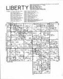 Liberty T99N-R16W, Mitchell County 1994 Published by R. C. Booth Enterprises